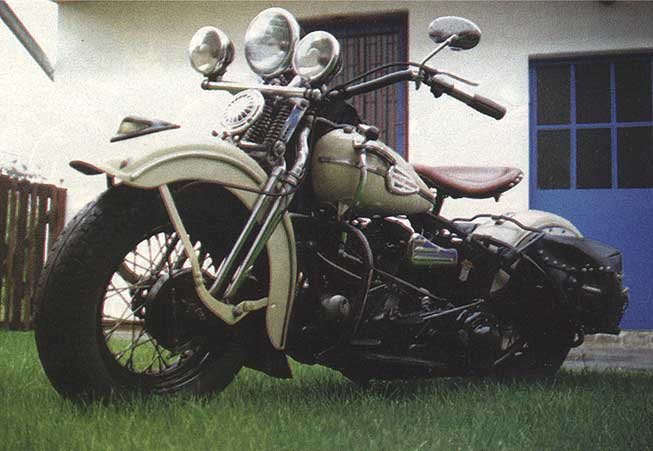 Gambar motor tua ala indian scout