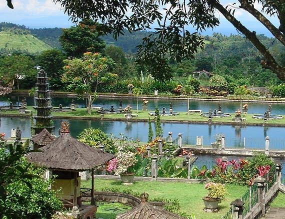 The Water Palace of Tirtagangga Bali Indonesia