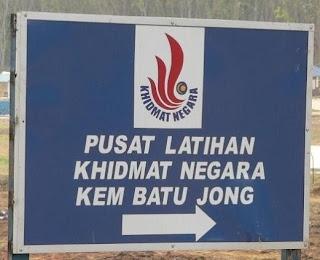 Masuk Kem PLKN Batu Jong Kuala Krai
