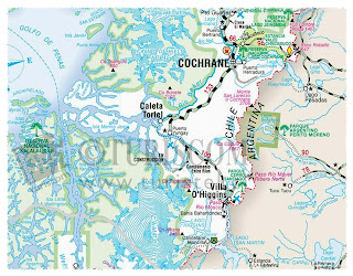 caleta tortel mapa y ubicacion