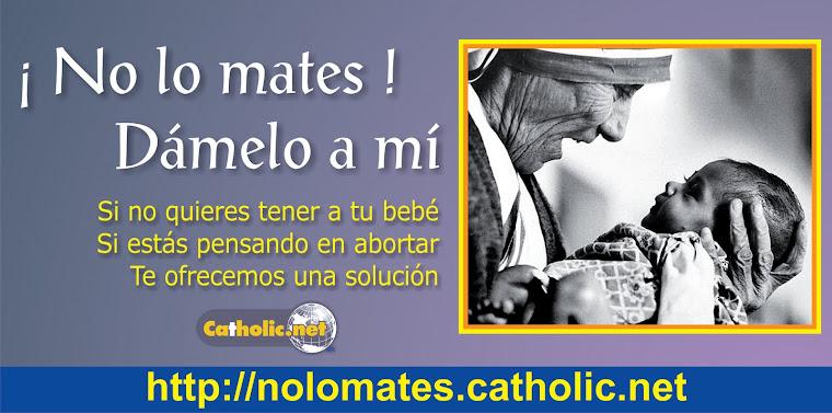 !NO LO MATES!