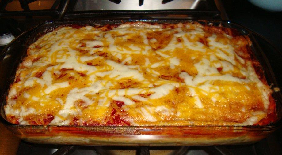Sarah's Kitchen: Chile Rellenos Casserole