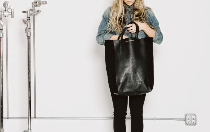 Crush of the Week: Ampersand As Apostrophe One Totes Suede Black