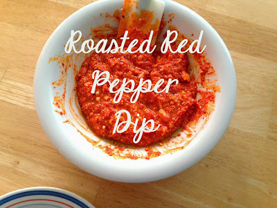 BEST Roasted Red Pepper and Feta Spread/Dip/Sauce (Htipiti)