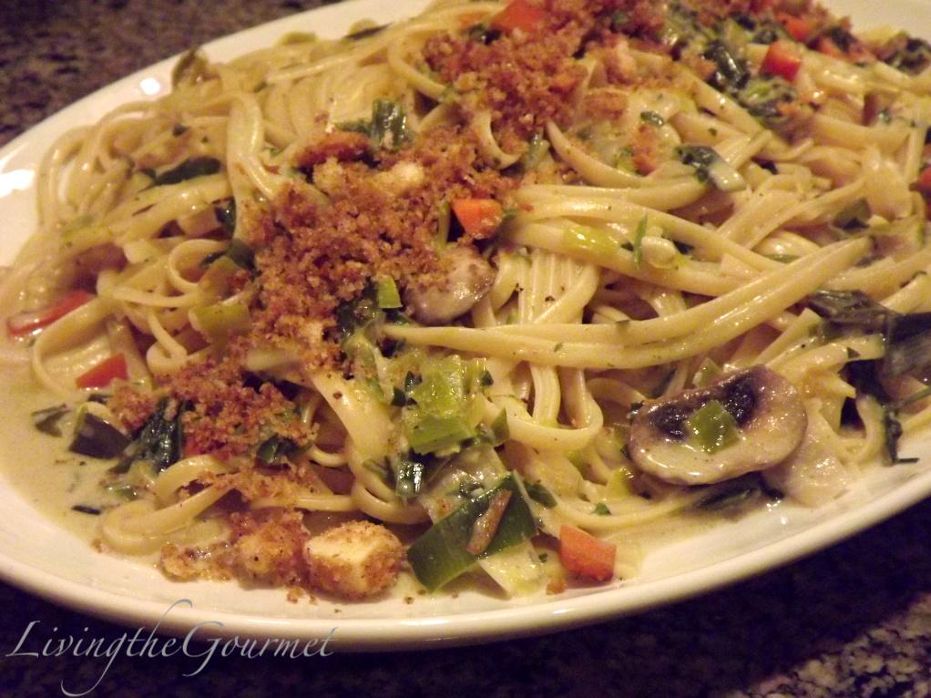 Easy!! Veggie Alfredo!!! - Living The Gourmet