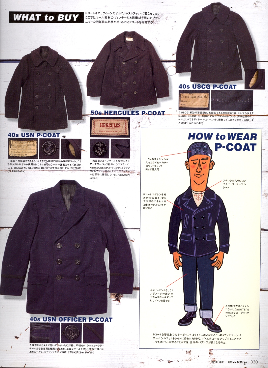 The Selective Ingredient: The US Navy Pea coat