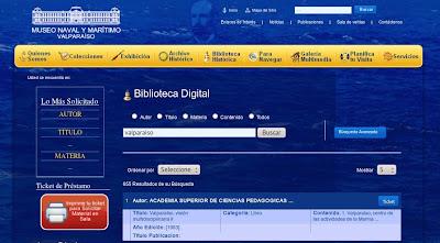 biblioteca museo maritimo nacional