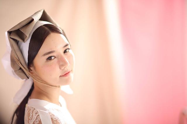 4 Han Ga Eun - Freckled Cutie - very cute asian girl-girlcute4u.blogspot.com