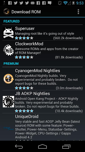 ROM Manager (Premium) v5.5.3.0 [APK] [Full] [Zippyshare] 2