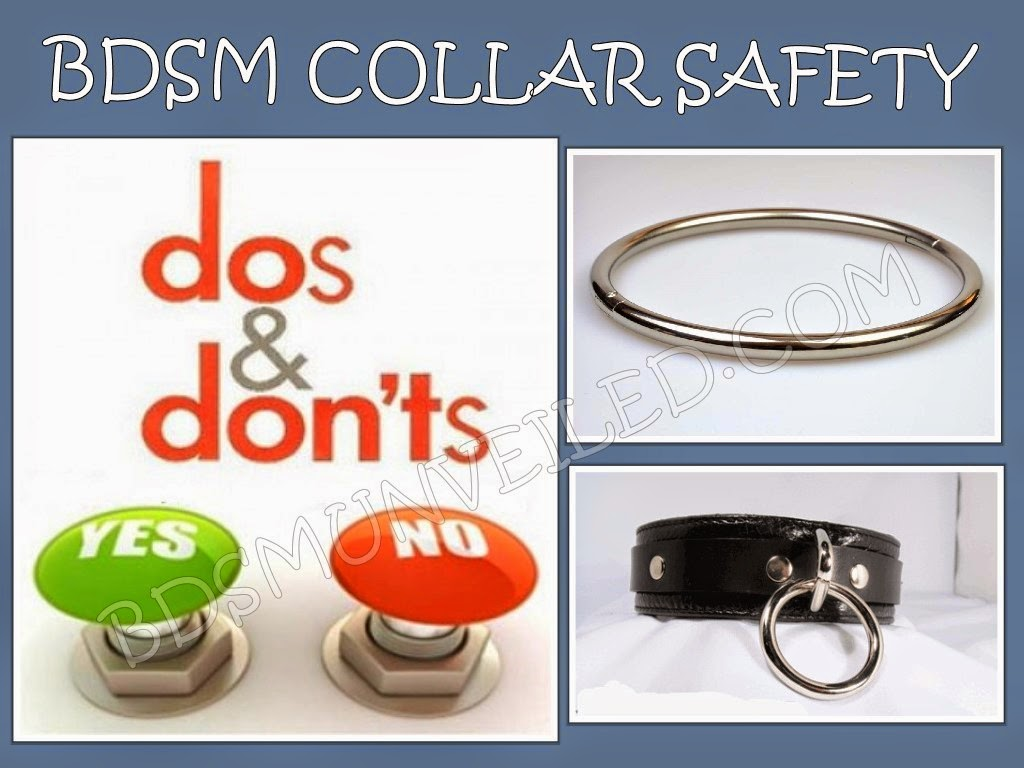 BDSM Collar Dos and Don'ts