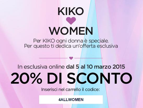offerte kiko marzo 2015
