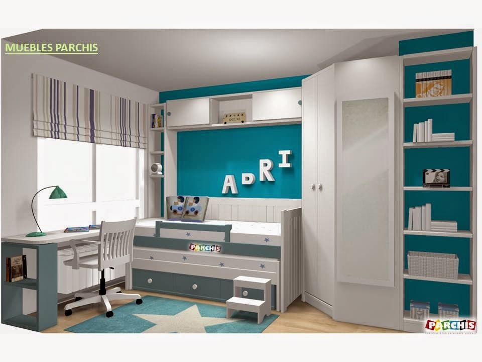 Muebles juveniles dormitorios infantiles y habitaciones for Mobiliario dormitorio infantil