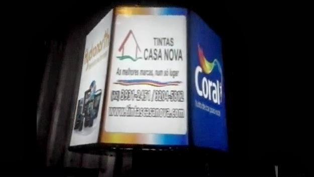 LUMINOSO GIRATÓRIO EM SÃO JOSÉ DO CAMPOS, TAUBATÉ, JACAREÍ, GUARATINGUETÁ, CARAGUATATUBA,SÃO PAULO