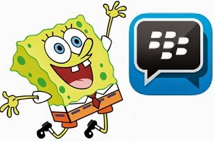 app bbm+ Plus Mod tema spongebob terbaru jellybean