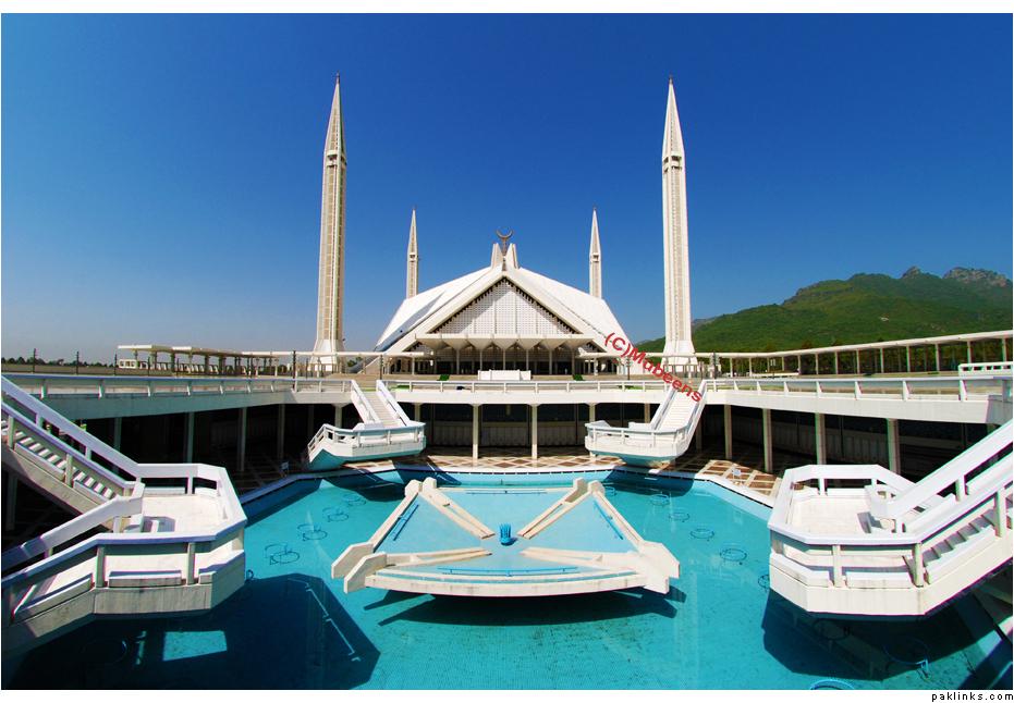 faisalmasjid - mera khoubsurat pakistan