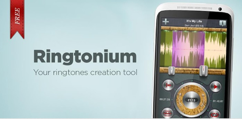 Crea tonos gratis con Ringtonium para Android - www.dominioblogger.com