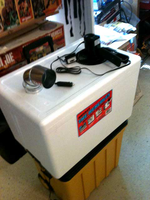 Modal title & DIY Redneck Air Conditioner - Coleman Collectors Forum