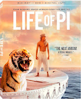 Life of Pi Blu-Ray DVD 3D