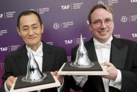 Linus Torvalds dan Dr Shinya Yamanaka dianugerahi Penghargaan Millennium Technology Prize