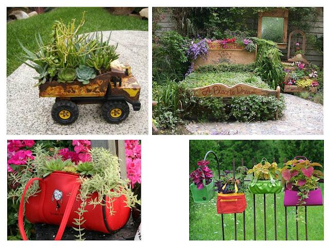 Ideas De Reciclaje Para El Jardin