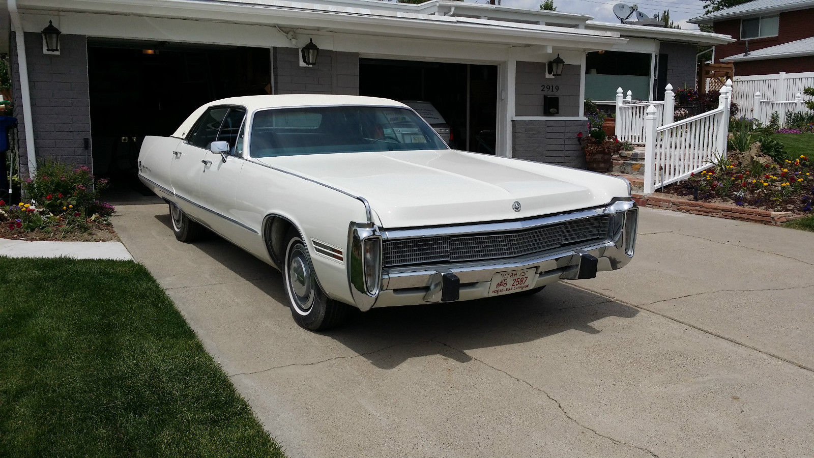 All American Classic Cars: 1973 Imperial Le Baron 4-Door Hardtop