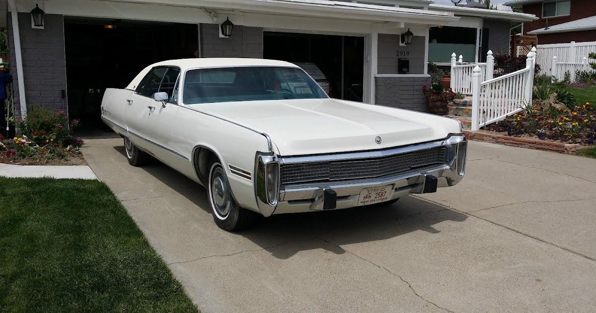 All American Classic Cars: 1973 Imperial Le Baron 4-Door Hardtop