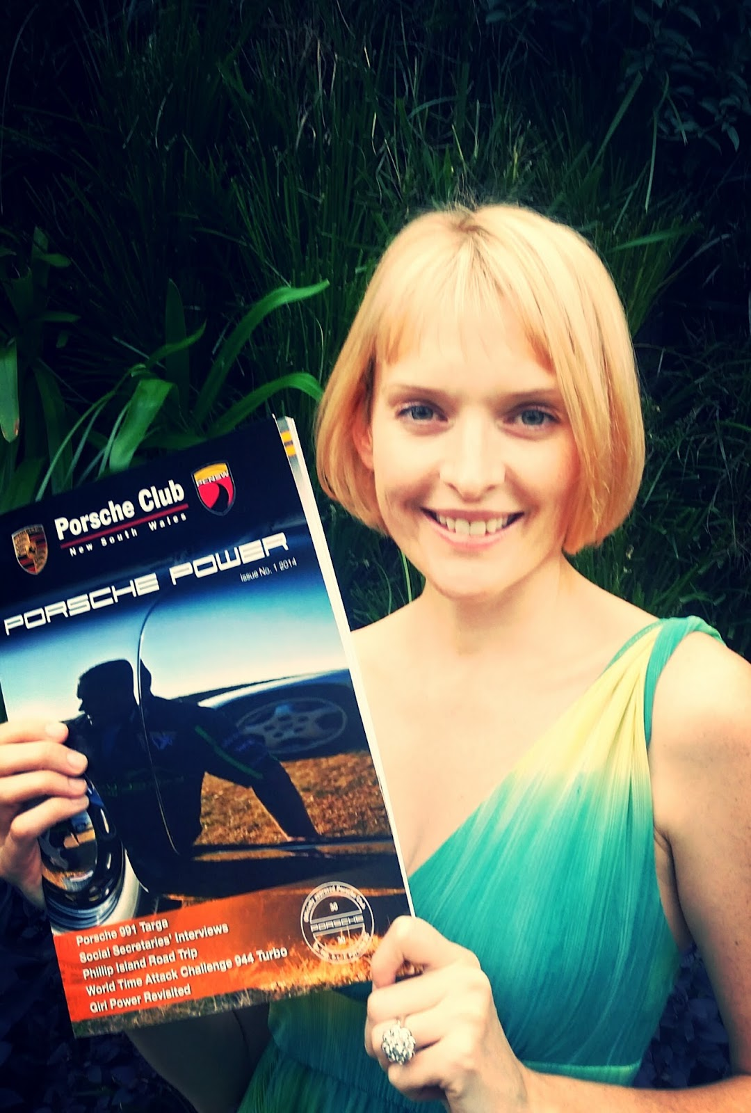 Photographer Kate Branch published in Porsche power