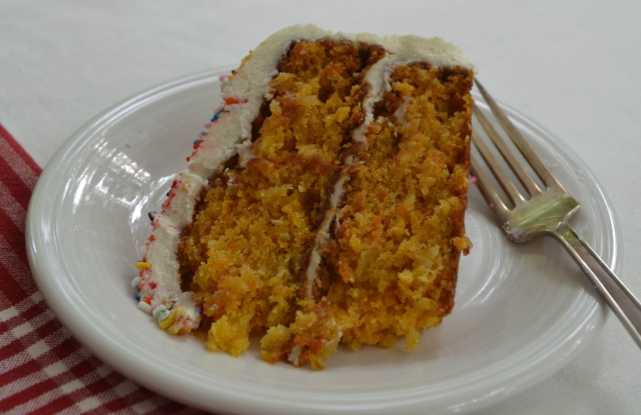 Carrot Cake with Cream Cheese Frosting. Lucy Mercer/A Cook and Her ...