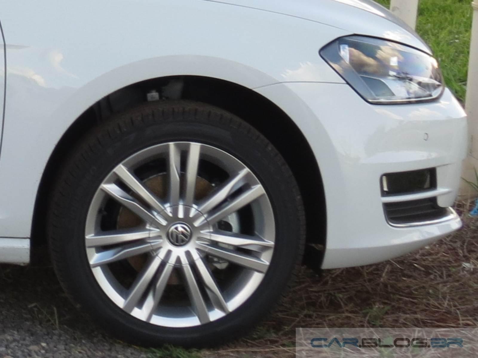 vw golf pneus apresentam bolhas em teste de longa dura o car blog br