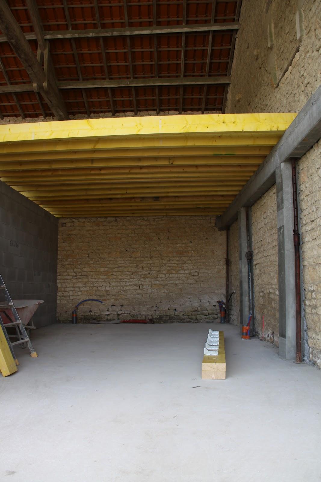 projet maison ossature bois montage mur locatif et plancher 01 juillet. Black Bedroom Furniture Sets. Home Design Ideas