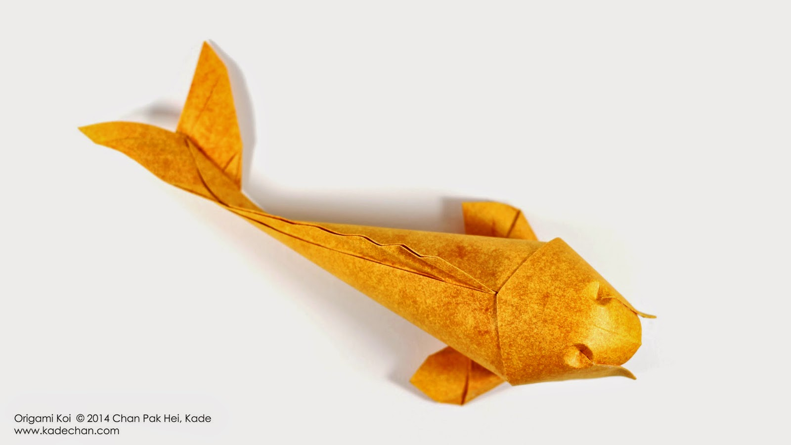 Kade chan origami blog origami koi fish for Origami koi fish