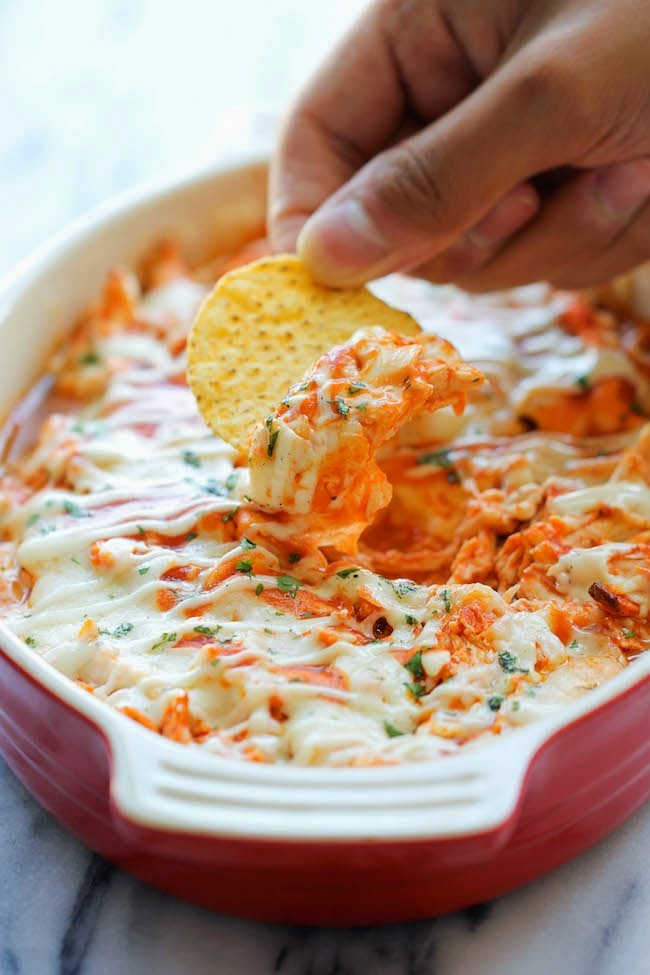 Buffalo Chicken Dip Superbowl Recipe