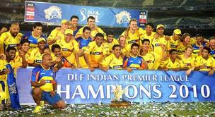Indian premier League 2010 Winners