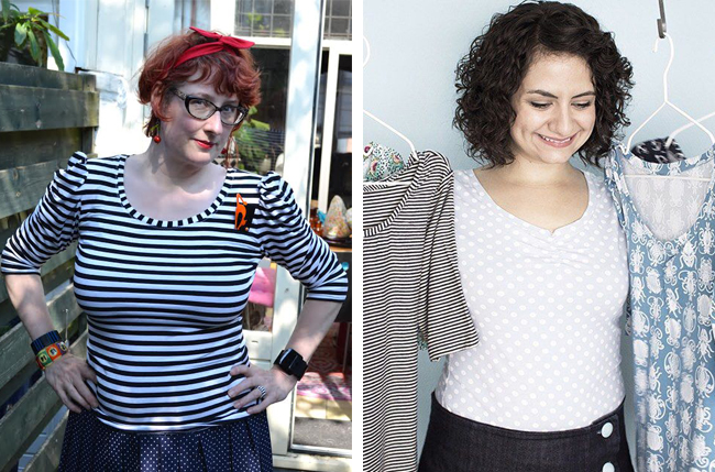 Agnes top - sewing pattern from Tilly and the Buttons