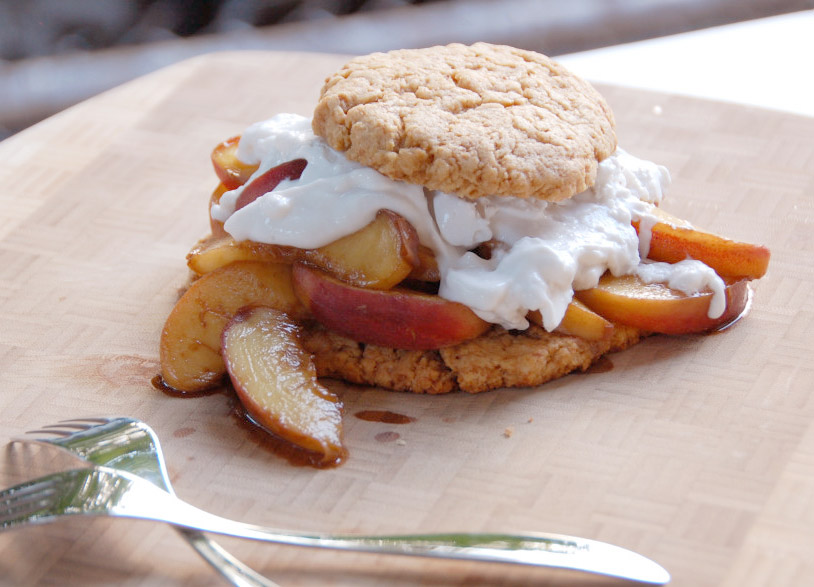 Tri to Cook: Peach Shortcake