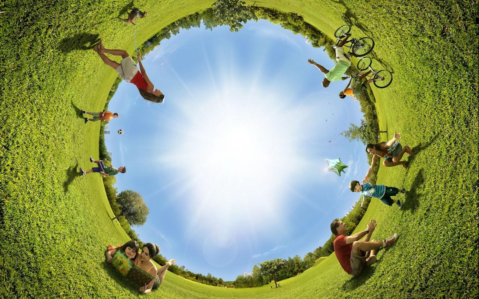 how to create 360 degree panorama