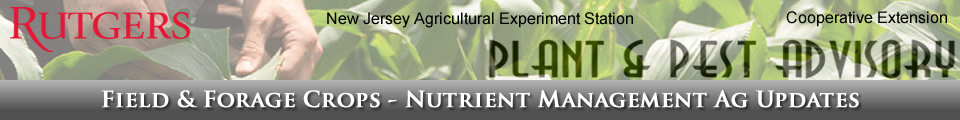 Field and Forage Crops, Nutrient Management