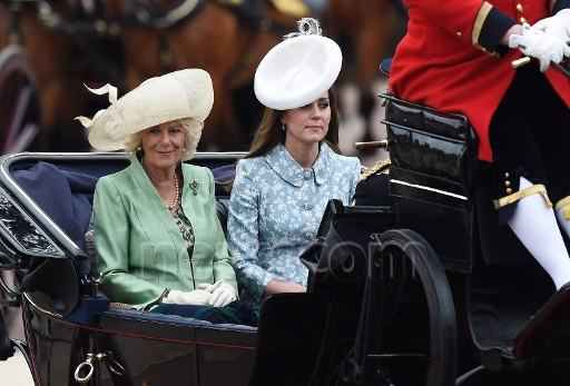 Catherine Duchess Of Cambridge Attend Trooping The Colour