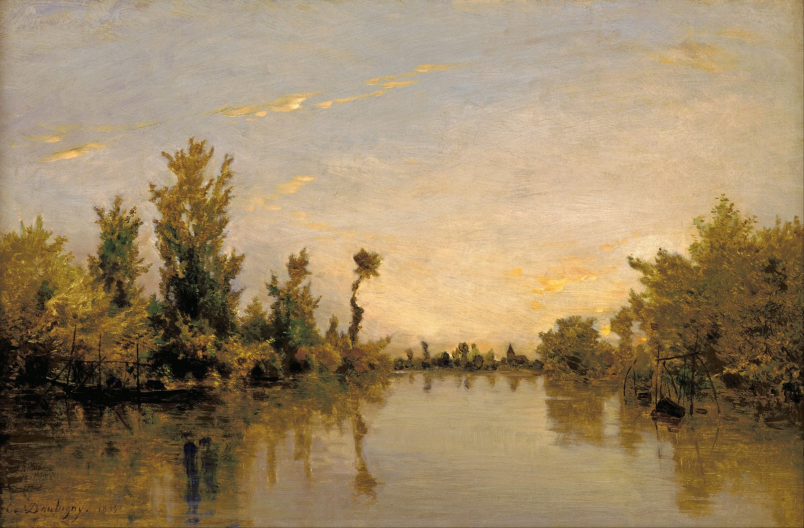 Charles fran ois daubigny the barbizon school of for Barbizon peintre