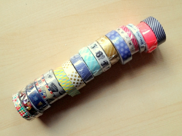 new washi tapes