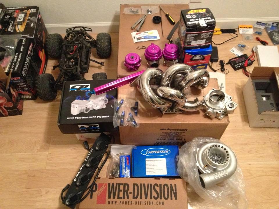 Custom Engine Build Parts Order
