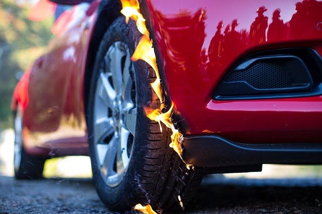 Car Fires and Auto Liability