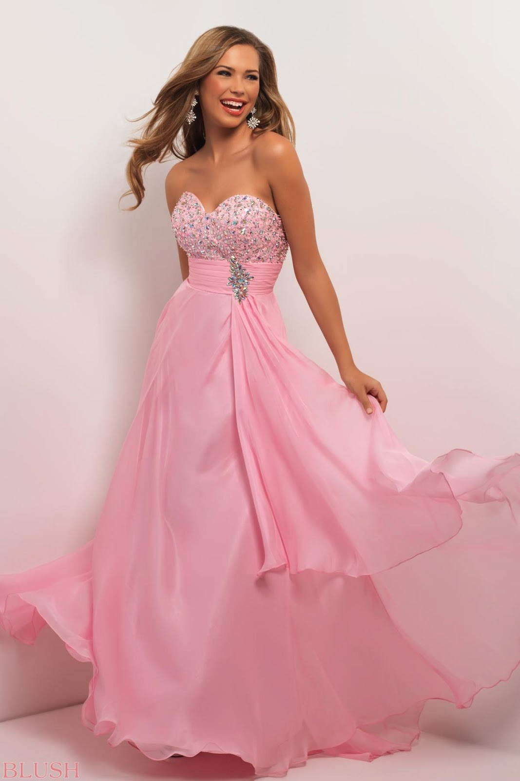 Blush prom dresses 2013 collection fashion party prom for Prom dress as wedding dress