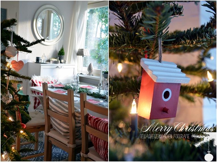 Weihnachtsbaum Dekoration Einrichtung gemütlich