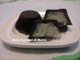 cioccolati ripieni al cocco