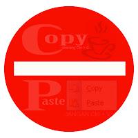 Tips sederhana agar postingan tidak dapat di copas (copy paste)