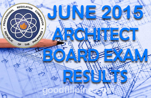 Architect Board Exam Results (June 2015) - Architect List of Passers June 2015