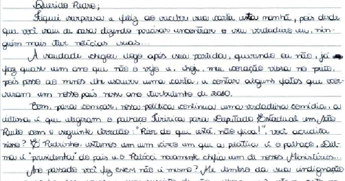 Lousa M Gica Carta Pessoal