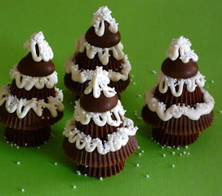 Recipe: Peanut Butter Christmas Trees