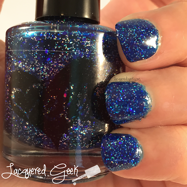 ellagee Sexy Old Girl nail polish swatch by Lacquered Geek